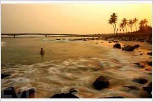 Le charme de la plage de Cua Tùng