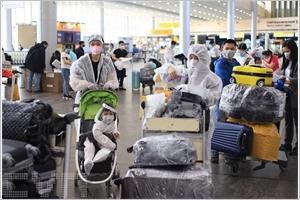 Rapatriement de resortissants vietnamiens en Russie