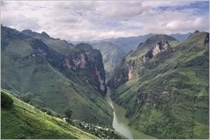 Le canyon Tu San et la rivière Nho Quê
