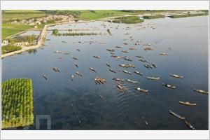 La lagune de Tam Giang