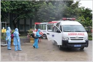 Lhôpital de campagne de Hoa Vang à Dà Nang prêt à traiter les patients