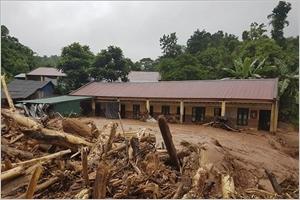 Inondations dans la province de Diên Biên