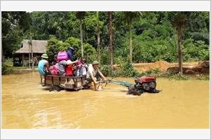 Inondations dans la province de Yên Bai