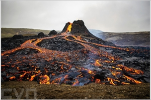 En Islande léruption volcanique devient lattraction du moment