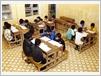 Tous les jours, de 19h00 à 21h00, les élèves sont répartis en groupe afin de favoriser l'entraide.