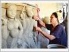 Les céramiques de Bàu Truc portent la beauté de la terre, et l'habileté des femmes Cham.