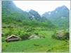 Les montagnes du Nord recèlent de nombreuses maisons traditionnelles.