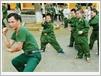 L'entraînement aux arts martiaux fait le bonheur de ces guerriers en herbe