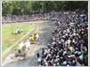 La course attire chaque année une foule nombreuse et enthousiaste.