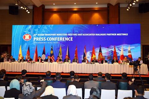 Conférence des ministres des Transports de lASEAN et de la République de Corée