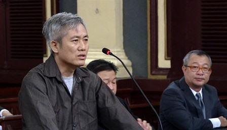 Hô Chi Minh-Ville procès en appel pour Activités subversives contre le pouvoir populaire