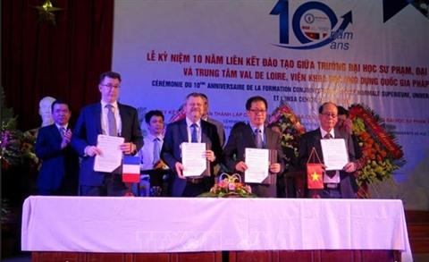 LINSA Centre Val de Loire ouvre un campus à lUniversité de Huê