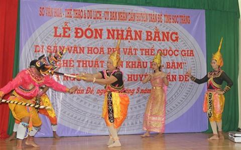 Soc Trang le théâtre Ro Bam reconnu patrimoine culturel immatériel national