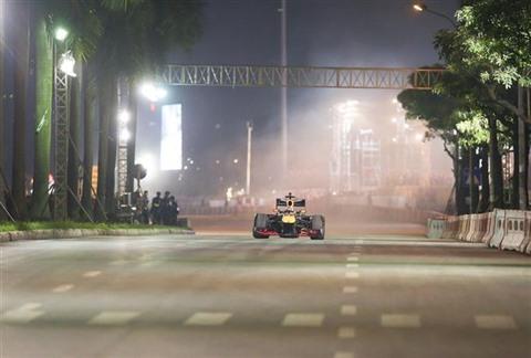 Les billets de la course de Formule 1 à Hanoï sont en vente