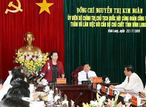 Vinh Long invitée à intensifier ses avancées stratégiques en matière économique