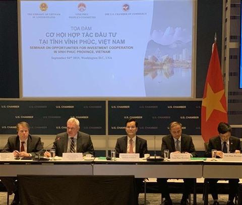Vinh Phuc promeut linvestissement aux États-Unis