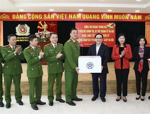 Vœux du Têt 2020 à des unités des forces armées aux religieux et aux soldats blessés