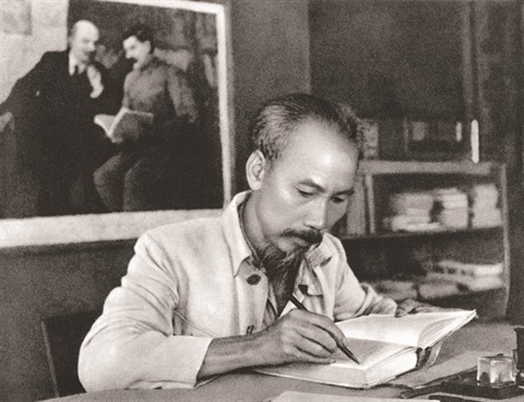 Le Président Hô Chi Minh héros de la libération nationale