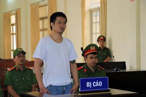 Lâm Dông  un homme condamné à 8 ans de prison pour actes subversifs
