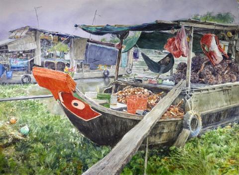 Les aquarelles du quotidien de Vincent Monluc