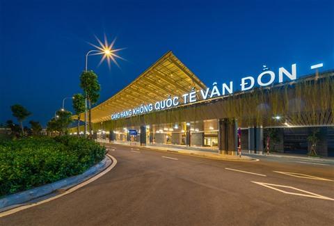 Quang Ninh  réouverture de laéroport international de Vân Dôn