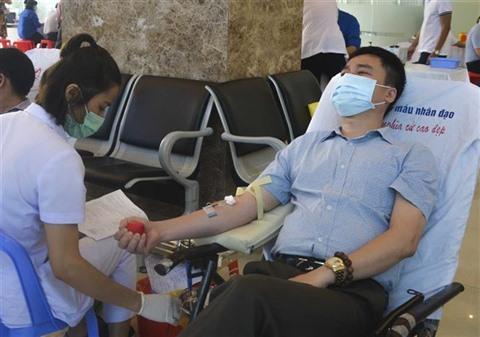 Plus de 8300 unités de sang collectés lors de la Fête du printemps rouge 2021