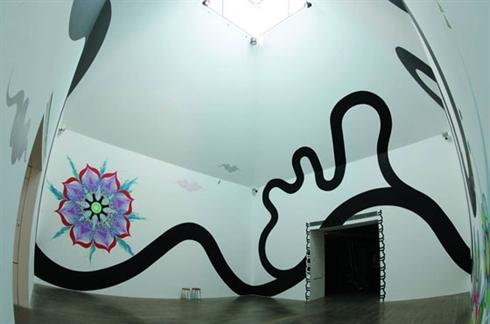Exposition De Peinture Murale à Hanoi