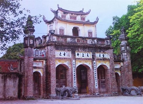 Le temple de Phù Dông, dans le district de Gia Lâm