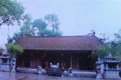 Le temple de Hat Môn dans le district de Phuc Tho