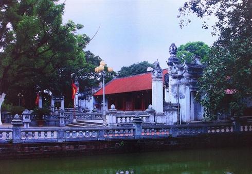 Le temple de Hai Bà Trung, dans le district de Mê Linh
