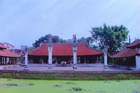 La maison commune de Tây Dang, dans le district de Ba Vi.