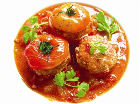 Tomates farcies à la vietnamienne - Le Courrier du VietNam