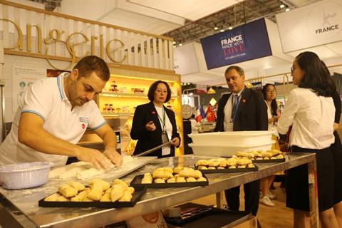 La France, invité d'honneur de la Vietnam Foodexpo 2017