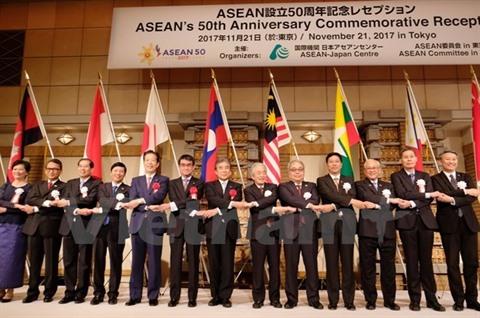 Le Japon estime les contributions de lASEAN à la paix et à la prospérité de la région