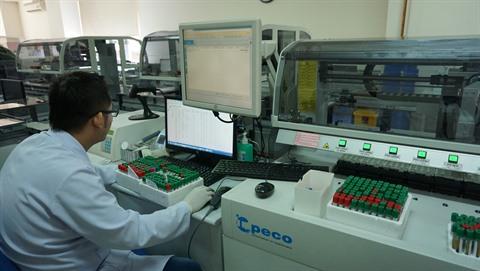 Le premier hôpital du Vietnam dont le laboratoire est équipé aux normes Westgart