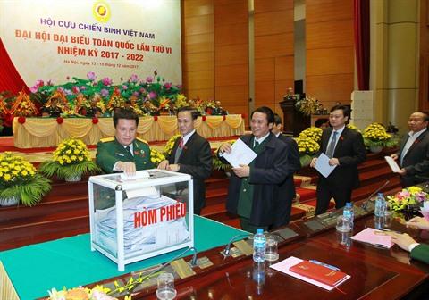 Les anciens combattants réunis en congrès national à Hanoï