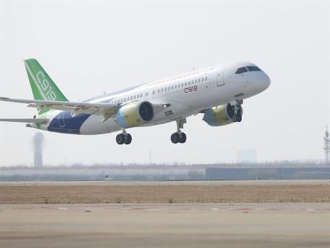 Deuxième vol réussi pour le C919, rival chinois dAirbus et Boeing