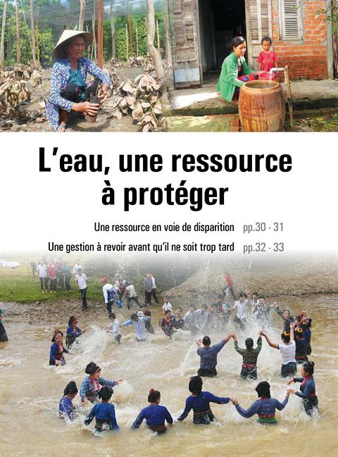 L'eau : une ressource en voie de disparition