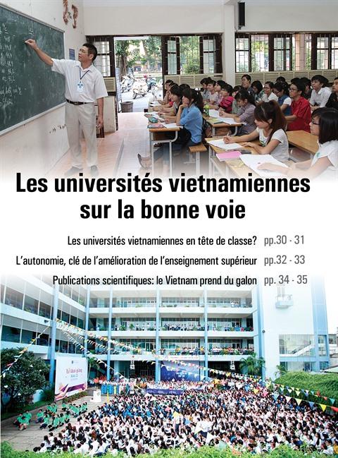 Les universités vietnamiennes en tête de classe?