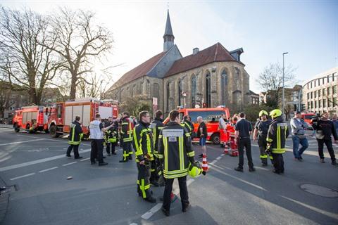Camionnette-bélier en Allemagne : pas de victime