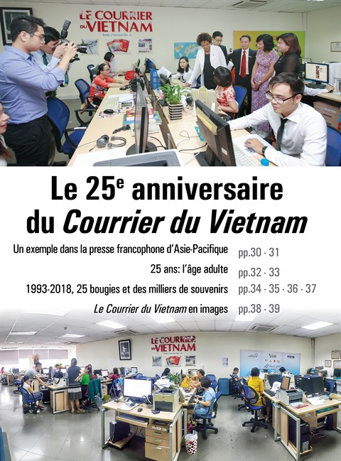 Le Courrier du Vietnam, un exemple dans la presse francophone d'Asie-Pacifique