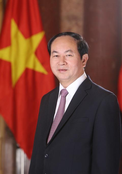 Hommage des dirigeants étrangers au président Trân Dai Quang