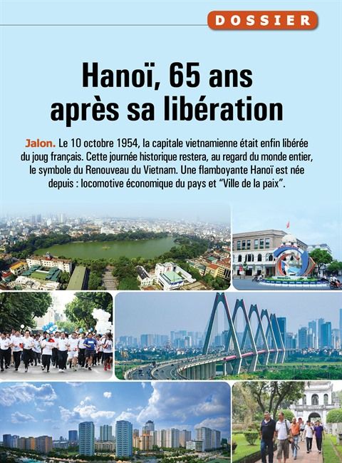 Hanoï, 65 ans après sa libération