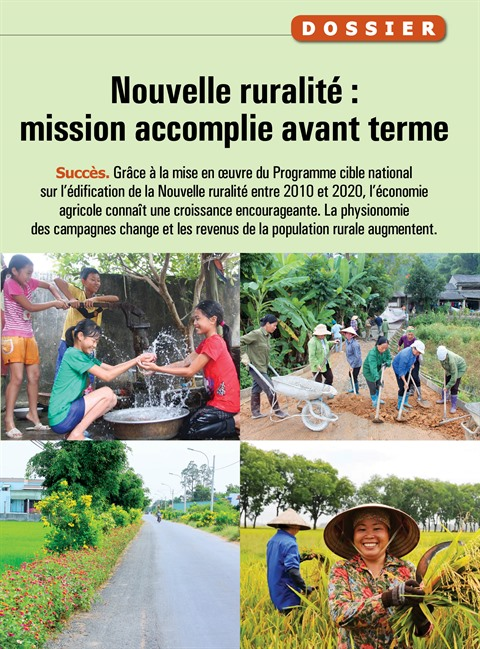 Nouvelle ruralité : mission accomplie avant terme
