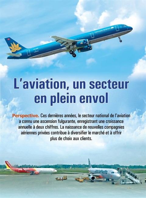 L'aviation, un secteur en plein envol