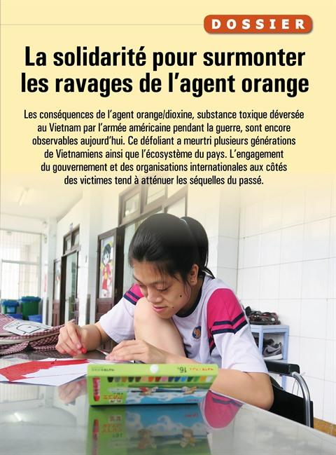 La solidarité pour surmonter les ravages de l'agent orange