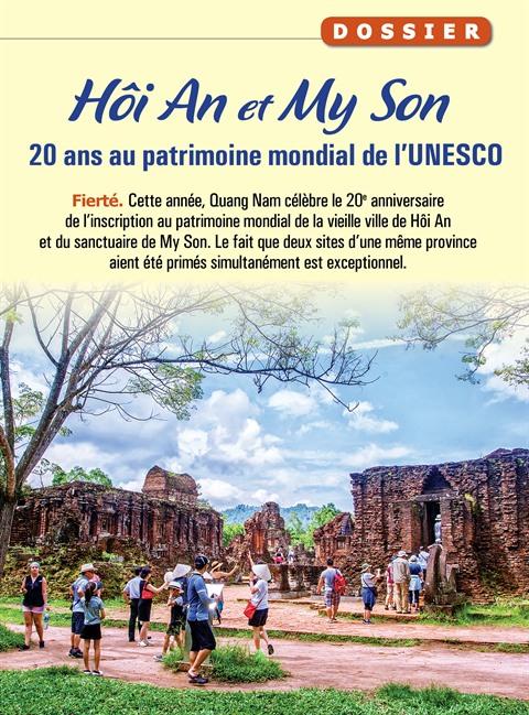 Hôi An et My Son : 20 ans au patrimoine mondial de l'UNESCO