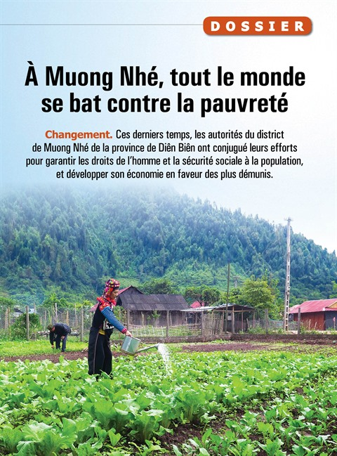 À Muong Nhé, tout le monde se bat contre la pauvreté