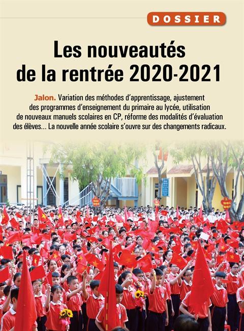 Les nouveautés de la rentrée 2020-2021
