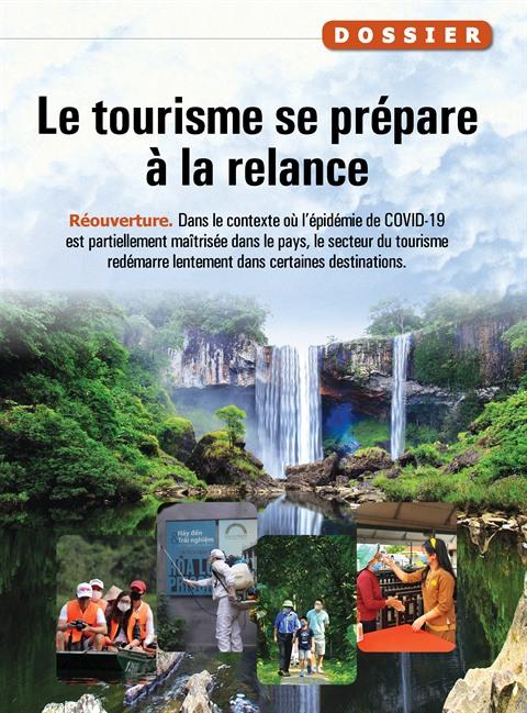 Le tourisme se prépare à la relance